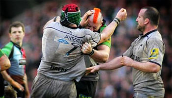 Joe Marler and Marcos Ayerza both banned for two weeks