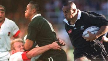 Three massive Jonah Lomu tackles