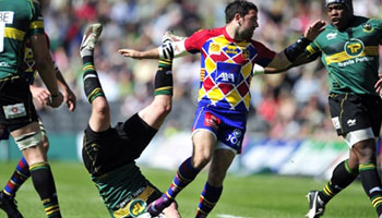 Julien Candelon's reckless tackle on Lee Dickson