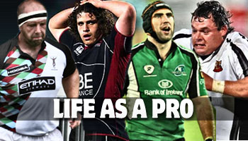 Life as a Pro - Behind the scenes with four professional rugby players