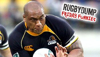 Friday Funnies - Neemia Tialata scores a try, without the ball