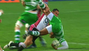 Two great hits from Manawatu vs North Harbour
