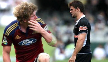 Rory Kockott red card for flat hand slap on Adam Thomson