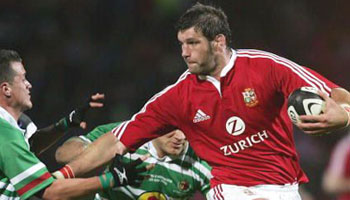 Famous Simon Shaw run from the Lions Tour 2005