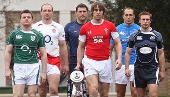 Behind the scenes at the Six Nations launch