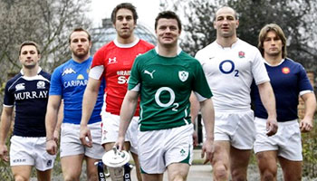 Behind the scenes at the 2010 Six Nations launch