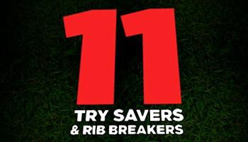Try Savers & Rib Breakers 11