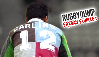 Friday Funnies - Will Carling's episode of what happens next